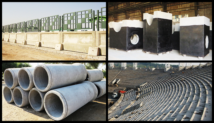 Concrete Pipes and Structures